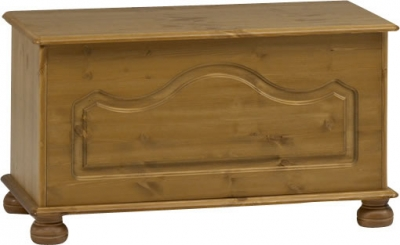 Steens Richmond ottoman storage chest in pine