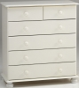 Steens Richmond 2 plus 4 drawer chest in white