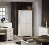 Steens Richmond 2 door wardrobe in white