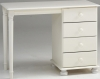Steens Richmond 4 drawer dressing table in white