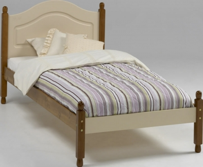 Steens Richmond Carlton single bed in cream
