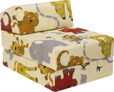 Just4Kidz Jungle Party Z Bed