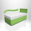 TCFC Potter Divan Single Bed