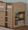 Frankie Oak Mid Sleeper Bed with Storage
