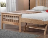 Pentre Hardwood Oak Guest Bed