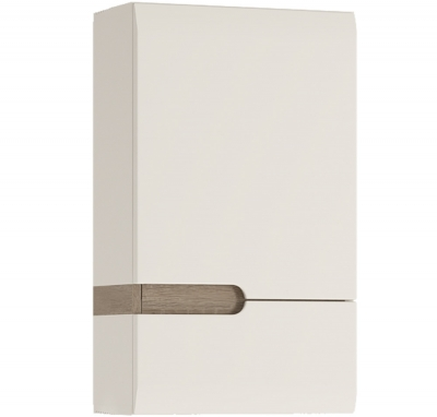 FTG Chelsea Bathroom 1 Door Wall cupboard - RH