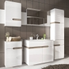 FTG Chelsea Bathroom Tall 1 Drawer 2 Door Cabinet - RH