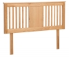Northop Solid American Oak Headboard