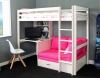 Hit 7 High Sleeper Bed with Pink Chair Bed