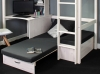 Hit 8 High Sleeper Bed with Black Chair Bed