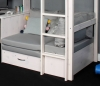 Hit 9 High Sleeper Bed with Grey Chair Bed