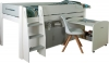 Kids Avenue Urban 2 Grey Mid Sleeper Bed