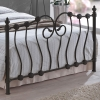 Time Living Inova Black Metal Bed Frame
