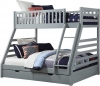 Sweet Dreams States Grey Triple Bunk Bed