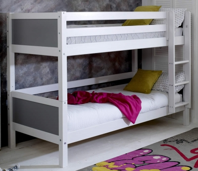 Flexa Nordic Bunk bed 1 Grey Gable Ends