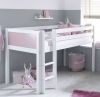 Flexa Nordic Mid Sleeper Bed 1 Rose Gable Ends
