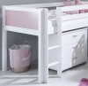 Flexa Nordic Mid Sleeper Bed 2 Rose Gable Ends