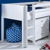 Flexa Nordic Mid Sleeper Bed 2 Tongue Groove Gable Ends