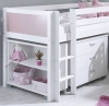 Flexa Nordic Mid Sleeper Bed 3 Rose Gable Ends