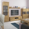 Furniture To Go Cortina 2 Door 1 Drawer Wide TV Cabinet Oak
