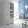 FTG Angel Tall Narrow One Door 3 Drawer Cupboard