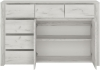 FTG Angel 2 Door 3 Plus 3 Drawer Wide Chest