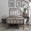 Flintshire Furniture Cilcain Antique Bronze Metal Bed Frame
