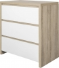 Tutti Bambini Modena White Oak 2 Piece Nursery Room Set
