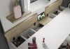Trasman Secret Vanity Dressing Table Oak White