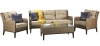 Signature Weave Diana 3 Seater Sofa with Coffee Table Garden Set