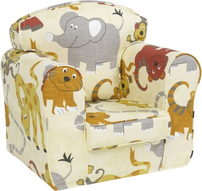 Just4Kidz Jungle Party loose cover chair