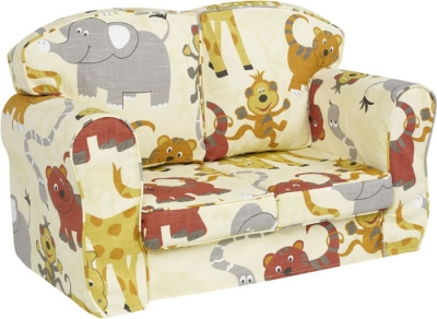 Just4Kidz Jungle Party loose cover sofa