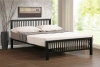 Time Living Meridian Black Metal Bed Frame