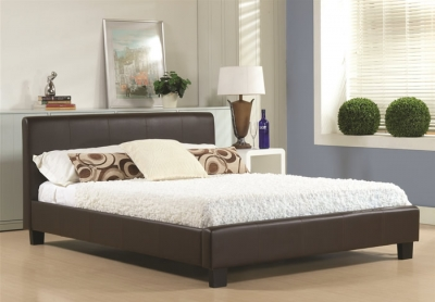 Time Living Hamburg Brown Bed