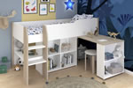 Parisot Finland Mid Sleeper Bed with Desk