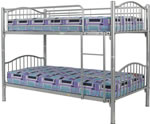 Sweet Dreams Agate Metal Bunk Bed
